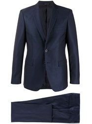 Tonello Single Breasted Two Piece Suit Blue