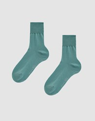 Hansel From Basel Trouser Crew Sock In Seafoam