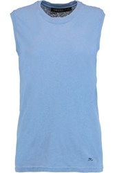 Marc By Marc Jacobs Cotton Jersey Tank Blue