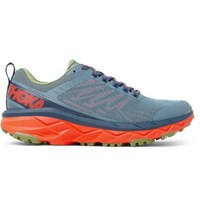 Hoka One One Challenger Atr 5 Rubber Trimmed Mesh Trail Running Sneakers Blue