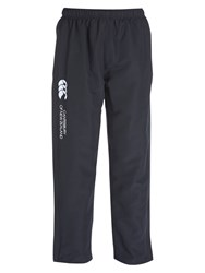 Canterbury Of New Zealand Open Hem Kids' Stadium Trousers Black Grey