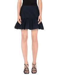 Trou Aux Biches Skirts Mini Skirts Women Dark Blue