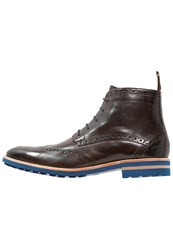 Melvin And Hamilton Eddy 10 Laceup Boots Classic Dark Brown