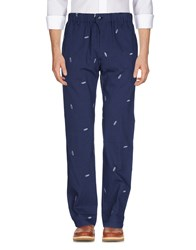 Julien David Casual Pants Dark Blue