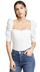 Fame And Partners The Ambrose Top Ivory