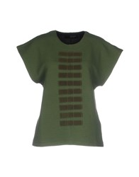 Tom Rebl T Shirts Green