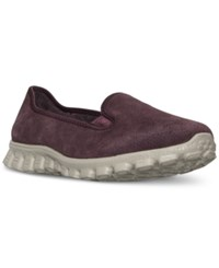 Skechers Women's Let's Chill Casual Walking Sneakers From Finish Line Burgundy