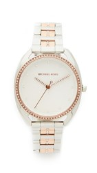 Michael Kors Libby Watch Rose Gold Silver