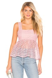 Line And Dot Valentina Top Rose