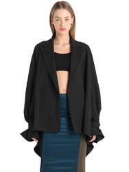 Michael Sontag Oversize Cool Wool Jacket