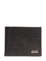 Salvatore Ferragamo Revival Embossed Leather Classic Wallet