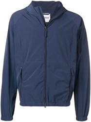 Aspesi Zipped Up Jacket Blue