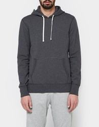 Reigning Champ Pullover Hoodie Mid Weight Terry In Charcoal