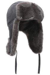 Australia Luxe Collective Shearling Hat Anthracite