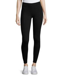 Three Dots Riley Stretch Knit Leggings Black