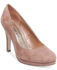 Madden Girl Dolce Pumps Women's Shoes Dark Nude