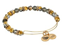 Alex And Ani Retro Glam Gleam Expandable Bangle Gentle Citrine Gold Bracelet Multi