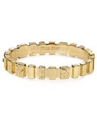 Dylan Gray Wood Textured Bar Bangle Bloomingdale's Exclusive Gold