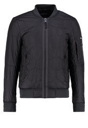 Replay Bomber Jacket Black