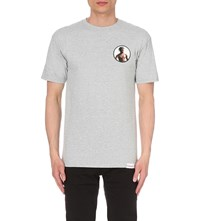 Diamond Supply Co. Travis Scott Cotton T Shirt Heather Grey