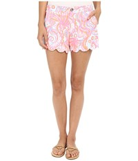 Lilly Pulitzer Buttercup Shorts Pink Pout Too Much Bubbly Women's Shorts
