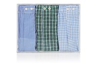 Barneys New York Men's Cotton Boxer Shorts Set No Color