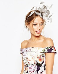 Coast Lurex Fascinator Silver