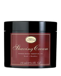 Brush Or Brushless Shaving Cream Sandalwood Brown The Art Of Shaving