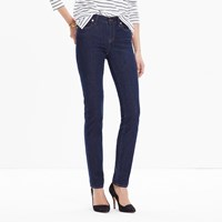 Madewell Short Alley Straight Jeans In Davis Wash