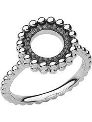 Links Of London Effervescence Silver And Diamond Ring Silver