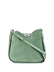 Salvatore Ferragamo Reverse Hobo Green