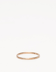 In God We Trust 1Mm Ring In Gold
