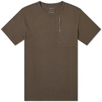 Mhi Maharishi Classic Travel Pocket Tee Brown