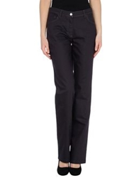 Laurel Casual Pants Deep Purple