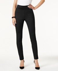 Inc International Concepts Pull On Skinny Pants Only At Macy's Deep Black