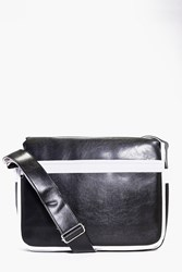 Boohoo Pu Cross Body Bag Black