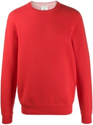 Lacoste Live Crew Neck Jumper Red