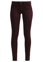 Dorothy Perkins Slim Fit Jeans Merlot Bordeaux