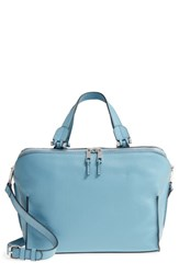 Danielle Nicole Mia Leather Satchel Blue