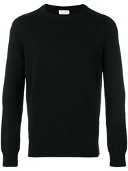 Saint Laurent Crewneck Cashmere Jumper Black