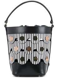 Pierre Hardy Penny Bucket Bag Women Calf Leather One Size Black