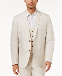Inc International Concepts Men's Nevin Linen Blazer Only At Macy's Stone Block