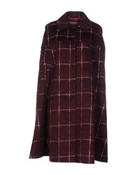 Frankie Morello Capes And Ponchos Maroon