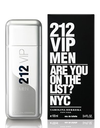 Carolina Herrera 212 Vip Men Eau De Toilette 3.4 Oz. No Color