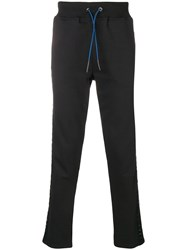 Frankie Morello Man Track Pants Black