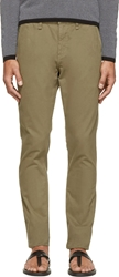 Rag And Bone Army Slim Chino Trousers