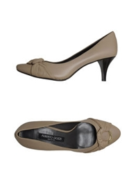 Alberto Gozzi Pumps Light Grey