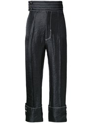 G.V.G.V. Contrast Stitch Trousers Black