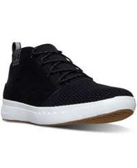 Under Armour Men's 24 7 Mid Casual Sneakers From Finish Line Black White Black