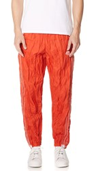 Adidas By Alexander Wang Originals Windbreaker Pants Red